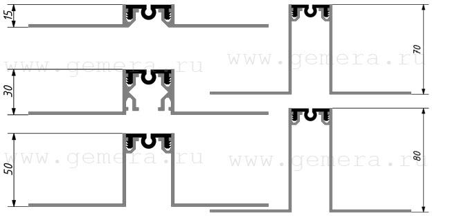схема Деформационный шов
