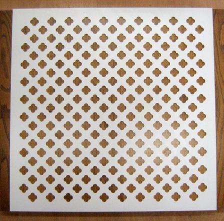 декоративные металлические напольные решетки